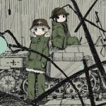 笑って泣ける漫画!『少女終末旅行』ほのぼの×廃墟×ディストピアがクセになる
