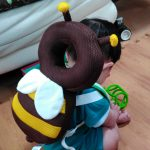 赤ちゃんが転ぶ時に頭を守るリュックを買ってみた!【アマゾンCM】